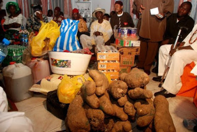 Yam and Marriage